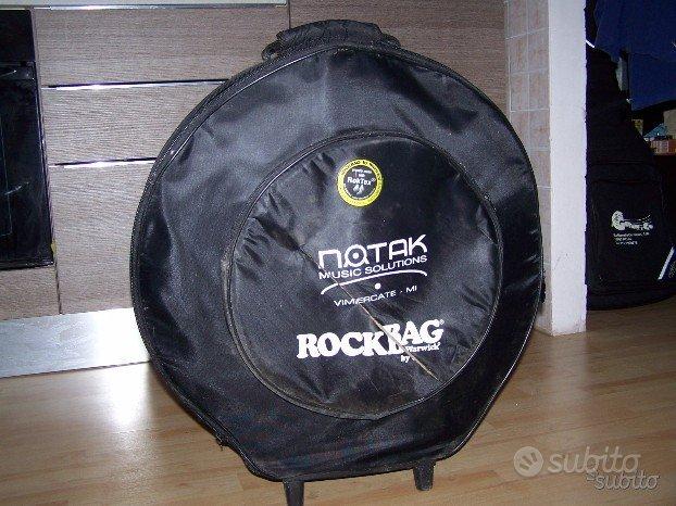 Rock bag custodia porta piatti per batteria