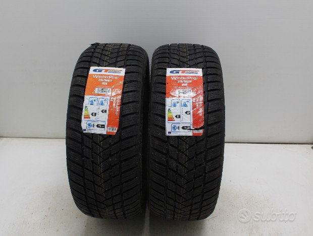 215/50/17 gt radial nuove