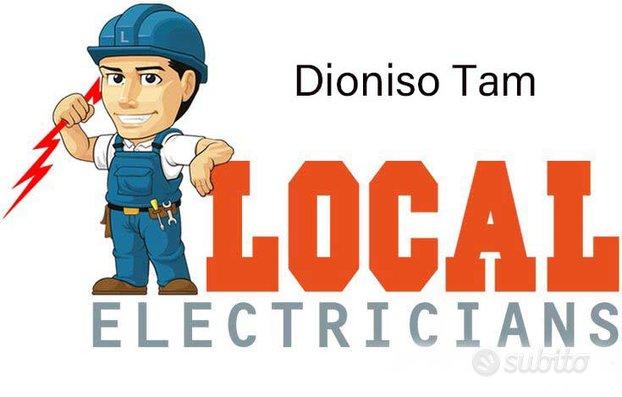 Elettricista veloce, pulito ed economico