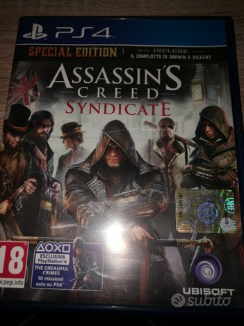 Assassin crees syndicate special edition ps4