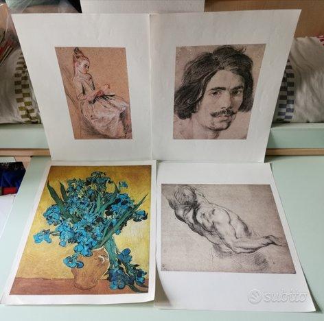 Stampe artisti vari 45x35
