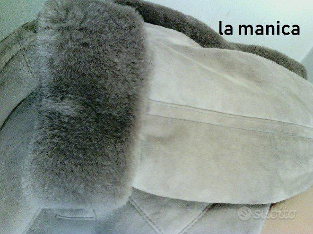Cappottone montone SHEARLING Vero LUNGO Pesante