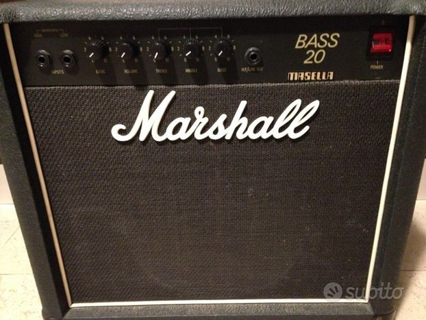Amplificatore per basso Marshall 5502