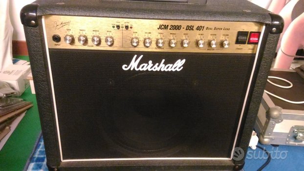 Marshall Valvolar 480euro Modello:JCM 2000 DSL 401