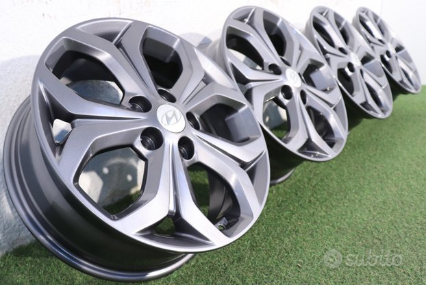 Cerchi in lega ORIGINALI Hyundai IX20 17 pollici