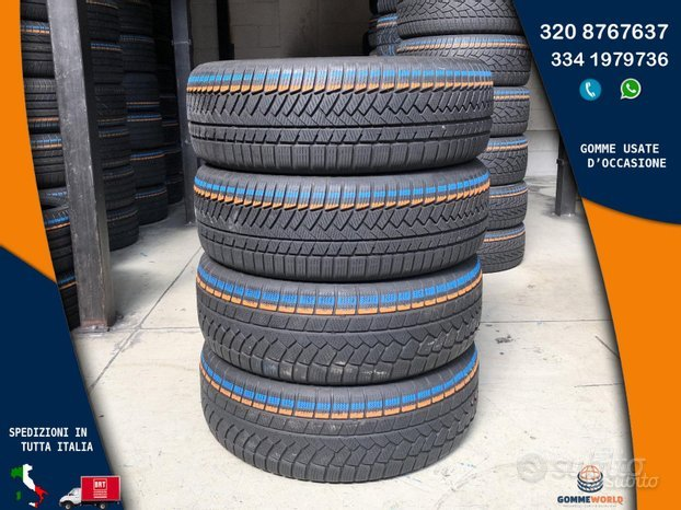 4 gomme 235 60 18 - Continental invernali