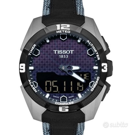 [NUOVO] Tissot Touch Collection Black Strap