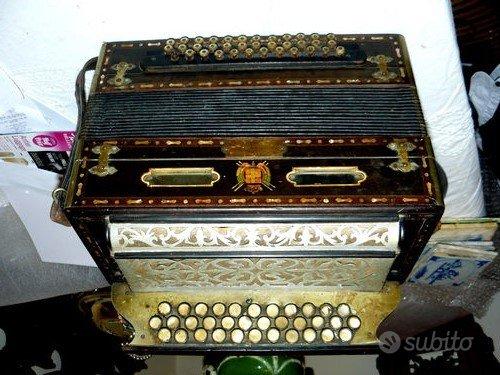 Fisarmonica Dallapè fine Ottocento
