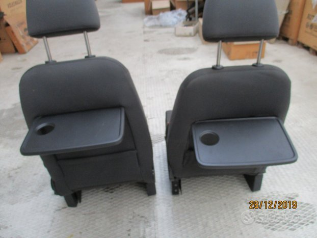 2 sedili anteriori completi per vw touran