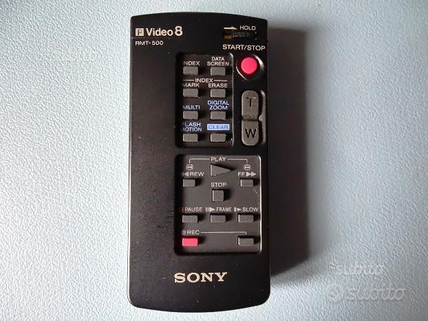 Telecomando Sony per videocamera
