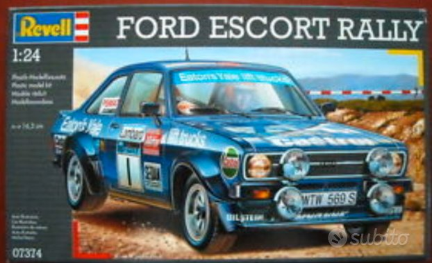 Ford Escort Rally kit 1/24+DECAL EXTRA
