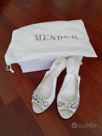 Scarpe sposa Menbur numero 39 8.5