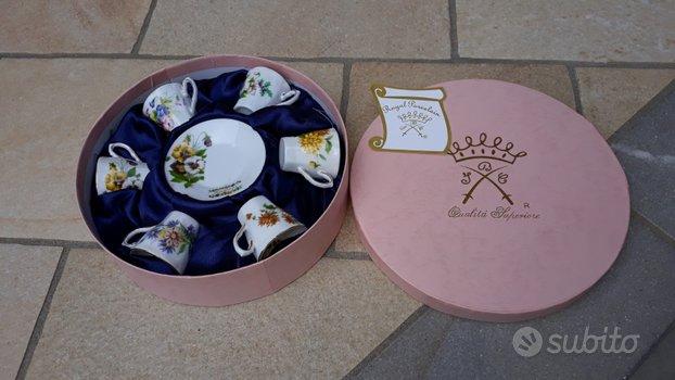 Serie n.6 tazzine Royal Porcelain