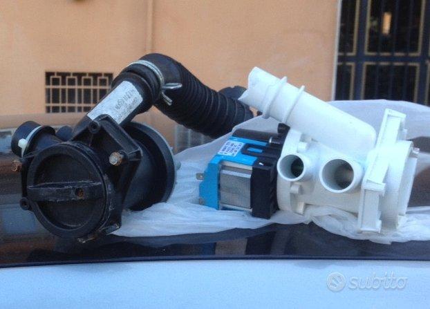 Pompa di scarica nuova+1usata buona+motore