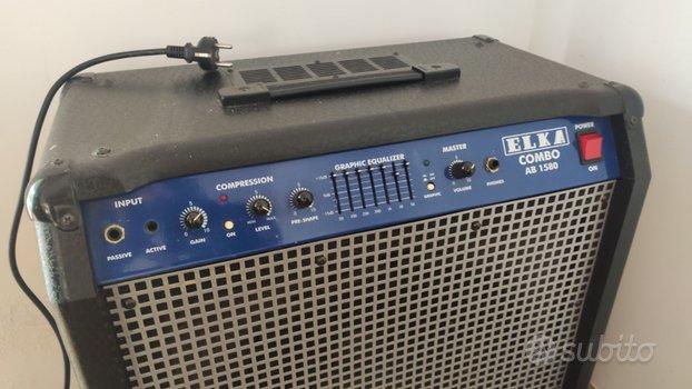 Amplificatore basso elka Combo AB 1580