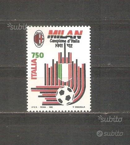 Milan scudetto anno 1992