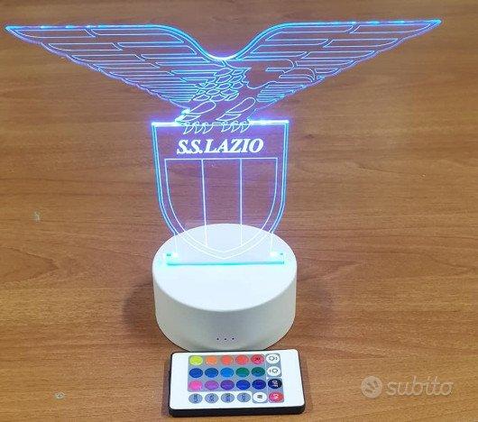 Lampada 3d SS Lazio led rgb
