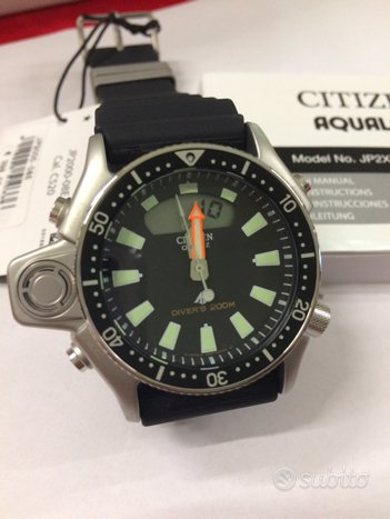 Citizen Aqualand jp2000-08e