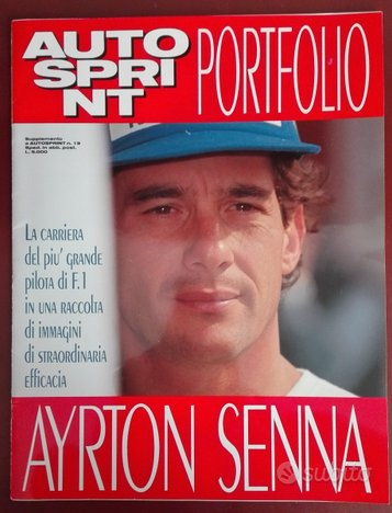 """ayrton senna"" lotto autosprint 1994"