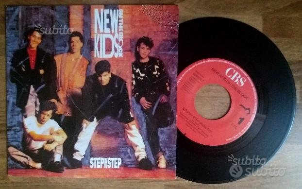 New Kids On The Block - Step by step - VINYL 45 RP