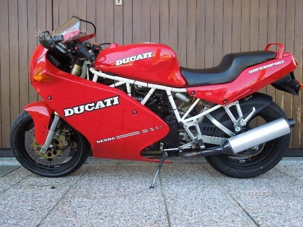 Ducati 750 ss - 1992 registro storico f.m.i