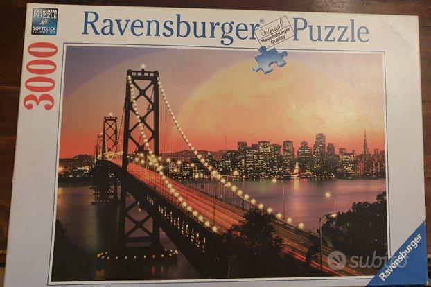 Ravensburger puzzle 3000 pezzi + colla puzzle