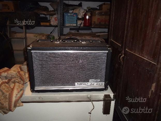 Amplificatori vintage davoli e montarbo