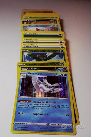 100 carte pokemon spada e scudo