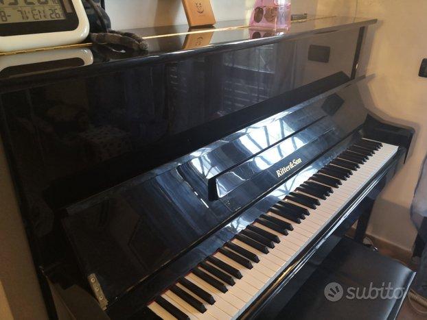Pianoforte ritter & son con corde Steinway