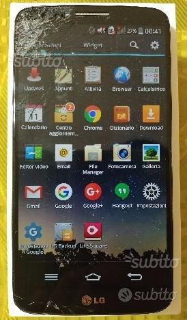 LG G2+caricabatterie+auricolari+4 cover