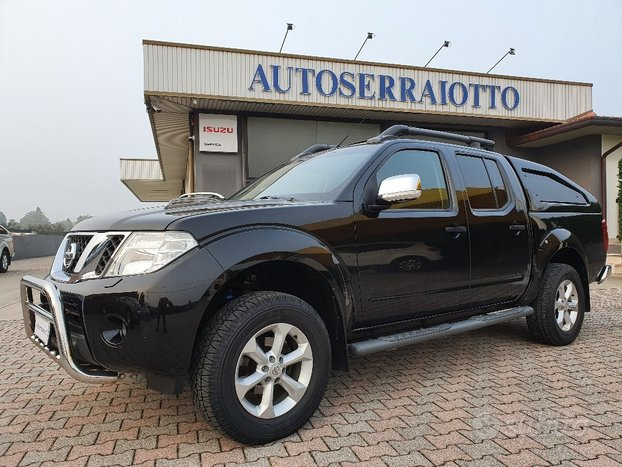 Nissan navara le 2014 hard top gancio traino