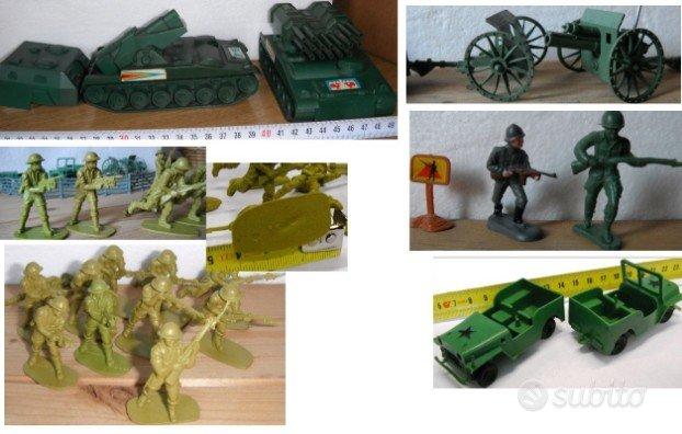Soldatini carri e giochi vintage