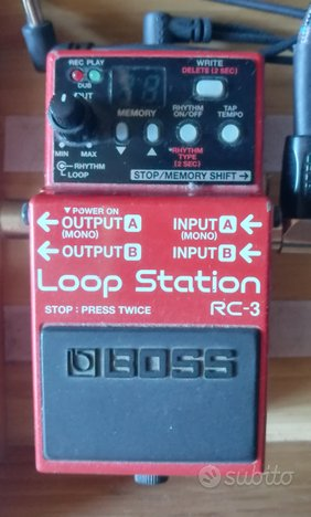 Loop station rc-3