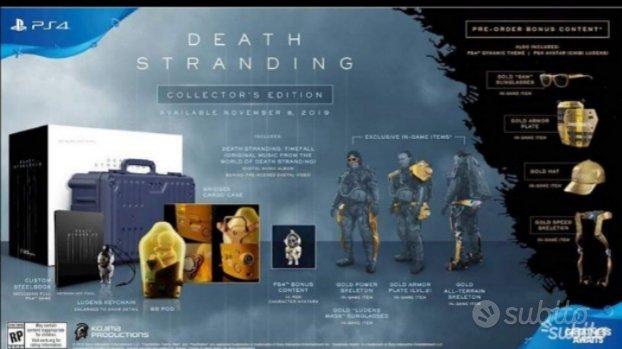 Death Stranding Collector Edition Ps4
