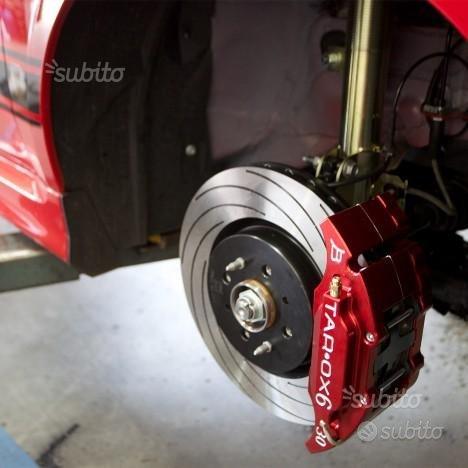 Impianto freni maggiorato Fiat 500 ABARTH