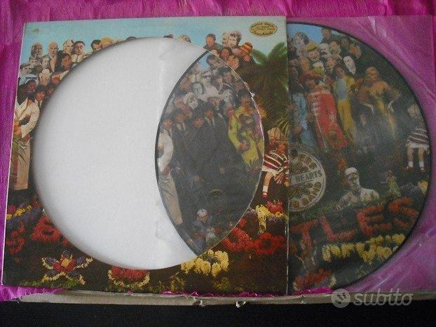 The Beatles picture disc vinile lp