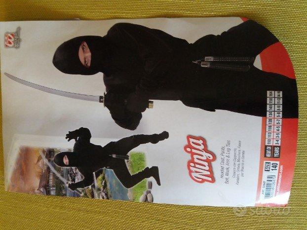 Costume carnevale ninja bambino