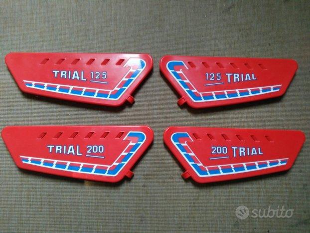 Fantic 125-200 coppia fianchetti trial con adesivi