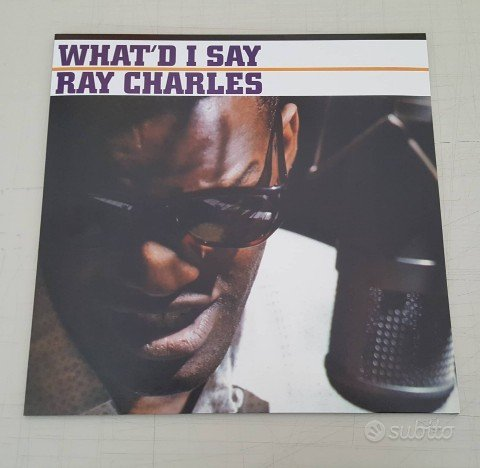 Ray Charles - What'd I Say LP 180 Vinile album new