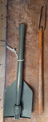 Pala pieghevole esercito US 1944 manganello legno