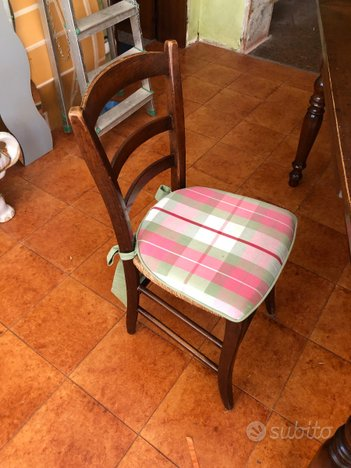6 sedie in legno - Arredamento e Casalinghi In vendita a ...