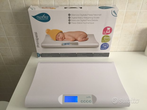Bilancia digitale Nuvita primi pesi neonati