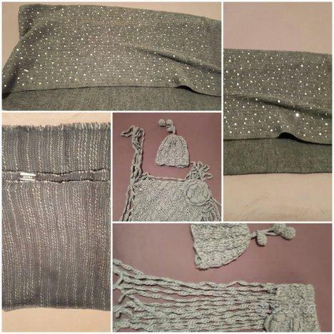 Set 3 sciarpe liu-jo/twin set