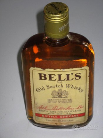 Old scotch whiskey BELL'S extra special Originale