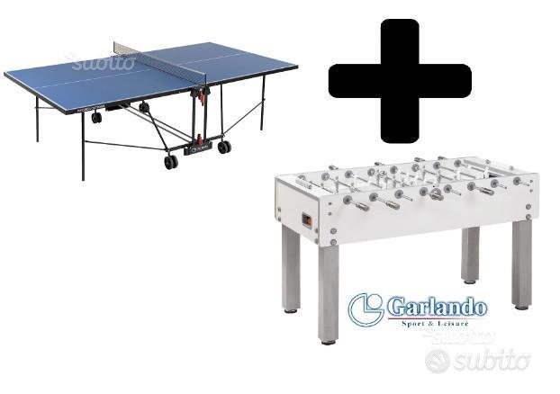 Ping Pong + Calcio balalilla Garlando NUOVI