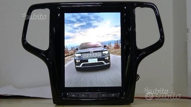 Navigatore android jeep grand cherokee tesla wifi