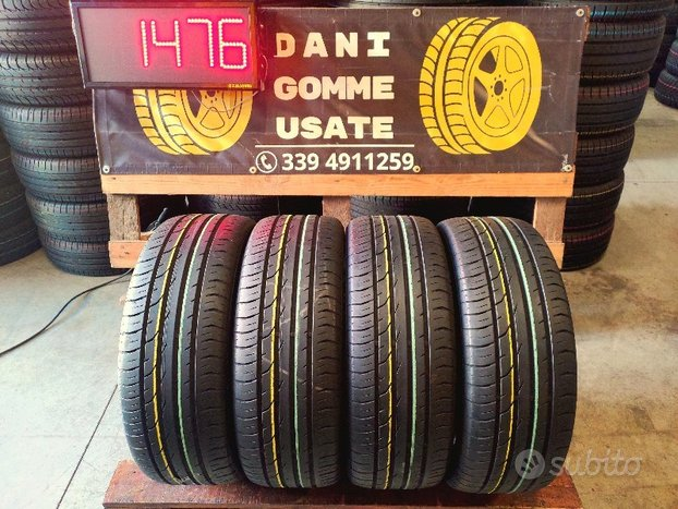 4 Gomme Usate 205 55 16 ESTIVE 70% CONTINENTAL