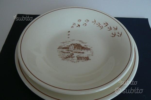 MULINO BIANCO Anni '80 - Coppia piatti