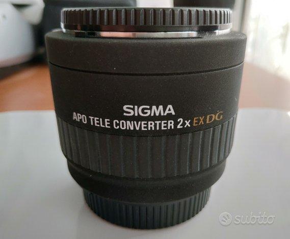 Teleconverter 2x Sigma/Nikon