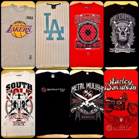 Maglie Shirt Heavy Metal Hip Hop Harley Davidson